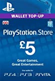 PlayStation PSN Card 5 GBP Wallet Top Up | PSN Download Code - UK account