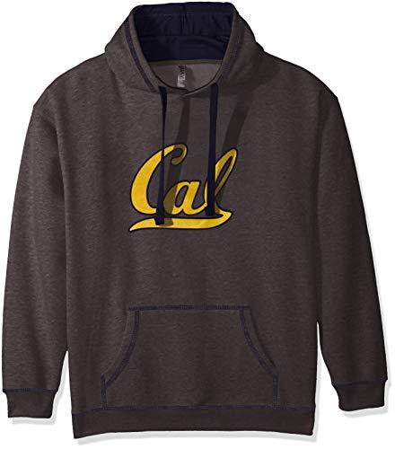 Preisvergleich Produktbild NCAA California Golden Bears Transit Hoodie,  Charcoal Heather / Navy,  Medium