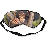 Eye Mask Eyeshade Chimpanzee On Tree Sleeping Mask Blindfold Eyepatch Adjustable Head Strap preisvergleich bei billige-tabletten.eu