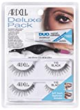 The Deluxe Pack is a professional quality twin set of Ardell lashes, Duo Adhesive and a soft-touch applicator to quickly and effortlessly adjust and apply lashes. Achieve a natural lash style with 110, perfect for small, large and round shape...