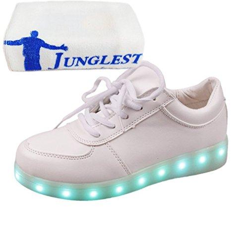 (Présents:petite serviette)JUNGLEST® - Baskets Lumin Blanc
