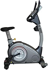 PowerMax Fitness BU-2000C Commercial Upright Bike, blue/white