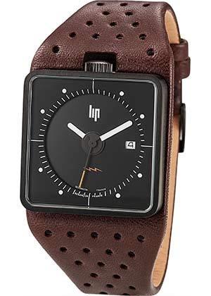 Lip Homme Uhr Analogique QUARTZ mit Cuir Armband 671138