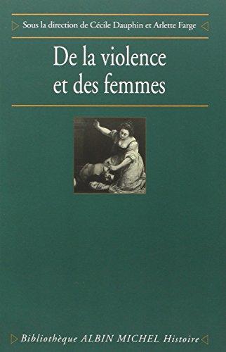 De la violence et des femmes par Cécile Dauphin