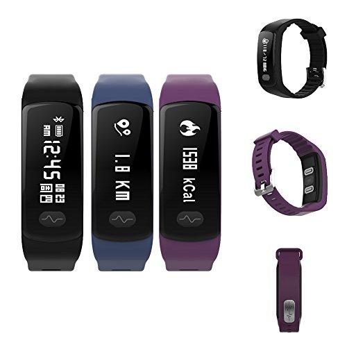 Smart Bluetooth Armbanduhr-HB07Smart Armband Elektrode Photoelectricity Blut Druck Herzfrequenz electrocardiogram Überwachung Herzfrequenz Blutdruckmessung Übungen Schritt Zählen Atmen Training