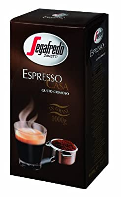 Segafredo Espresso Coffee Beans 1Kg (Pack of 1) from Segafredo