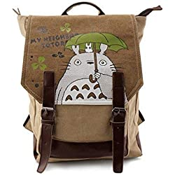 "Sac à dos My Neighbor Totoro pour ordinateur portable 14"", motif dessin animé, cosplay"
