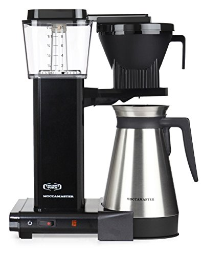41tXHhk03GL - Moccamaster Filter Coffee Machine KBGT 741 -UK Plug, 1.25 Litre, 1450 W, Black