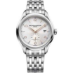 Baume & Mercier Clifton Reloj de hombre automático 41mm correa de acero 10141