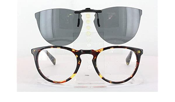 c4c4328f1b WARBY PARKER HASKELL-265-49X22 POLARIZED CLIP-ON SUNGLASSES (Frame NOT  Included)  Amazon.co.uk  Health   Personal Care