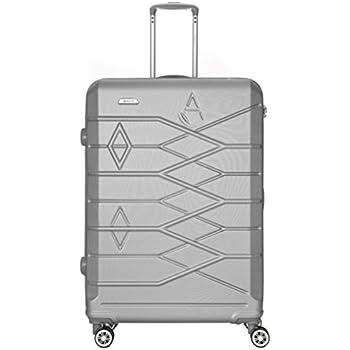 "Aerolite Hardshell Cabin Hand Luggage, Medium & Large 20/25/29 Luggage Suitcase Travel Trolley Sets (29"", Silver ABS 315)"