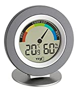 TFA 30.5019.10. Tipo batteria: AAA, Voltaggio della batteria: 1,5 V. Larghezza: 104 mm, Profondità: 77 mm, Altezza: 114 mm. Tipologia display: LCD Display -Display incorporato: Si -Tipologia display: LCD Dimensioni e peso -Larghezza: 104 mm -...