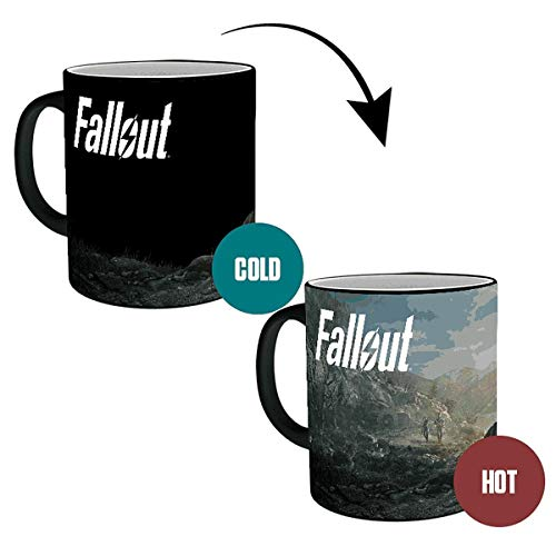Close Up Tazza ad Effetto Termico Fallout 76 - Dawn