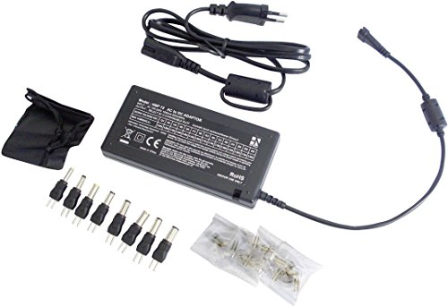 Unbekannt HN Power HNP72-Uni Tischnetzteil, einstellbar 12 V/DC, 13 V/DC, 14 V/DC, 15 V/DC, 16 V/DC, 17 V/DC, -