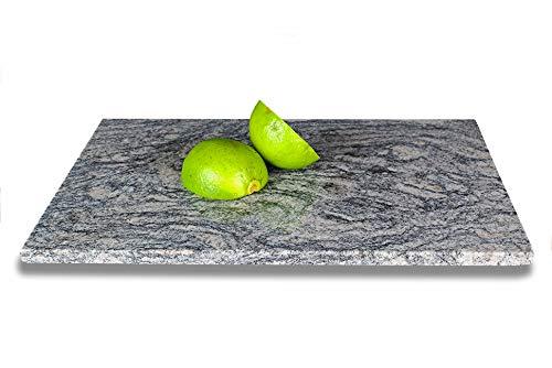 DiConcetto Schneidebrett aus Granit | Steinplatte | Granitplatte (30 x 20 x 1, Granit Latashia)