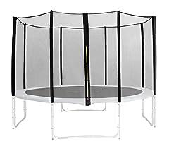 Idea Regalo - SixBros. Ricambio rete di sicurezza nero per trampolino giardino 1,85 M - 4,60 M - diverse misure - SN-ON/1959 - colore3,05 m 3L