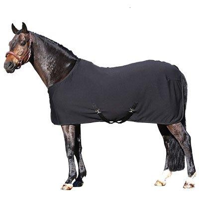 Euroriding Abschwitzdecke Dry Easy Pferd Fleece Kreuzgurte 115 125 135 145 155 165 cm Decke