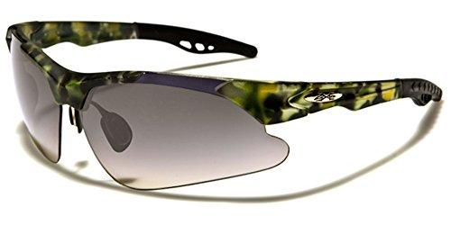 X-Loop Herren Sonnenbrille Mehrfarbig YELLOW CAMO/YELLOW LENS