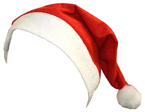 Classic Santa Kostüm - Sonia Originelli 5er SET Weihnachtsmütze