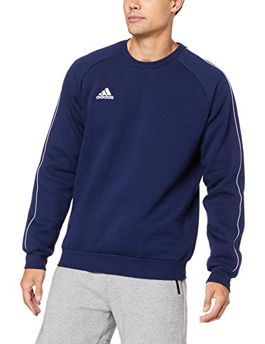 adidas Herren CORE18 SW TOP Sweatshirt, Dark Blue/White, M