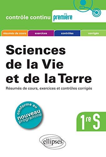 Sciences de la Vie et de la Terre 1re S