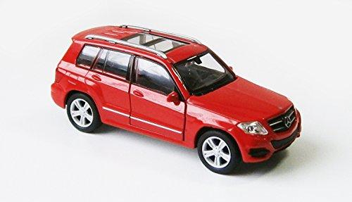 Mercedes-Benz GLK 350 Modellauto 12cm Modell Auto Spielzeugauto 4 Farben 22 (Rot)