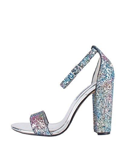 Steve Madden Carrson Glitter multi - Sandales Glitter Multicolor Multicolore