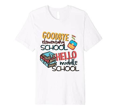 Grundschule Ende von Jahr Abschluss T-Shirt Mitte -