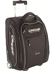 Cressi Tasche und Rucksack Vuelo - Bolsa con ruedas para buceo, color negro, talla 43 l