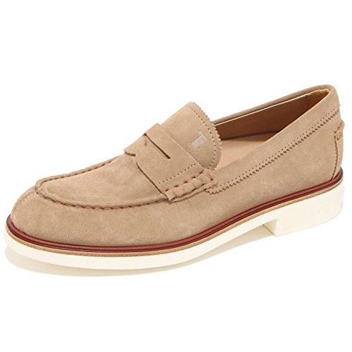 0623L mocassini uomo TOD'S fondo light scarpe loafers shoes men Beige