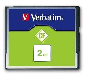 Verbatim CompactFlash (CF) 2GB Speicherkarte (P-Blister)