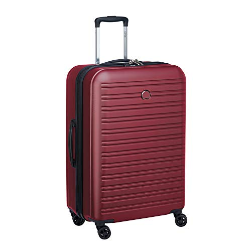 Delsey Paris SEGUR 2.0 Koffer, 70 cm, 81.6 Liter, Rojo