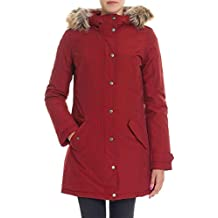 Woolrich Giacca Outerwear Donna WYCPS0523BKR Poliestere Rosso