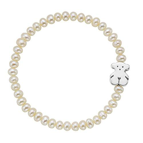 Tous bracciale elastico donna argento - 15901540