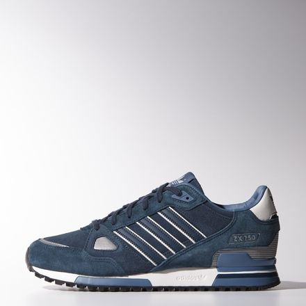 Adidas Originals Zx 750 Herren Sneaker dpetrol/dpetrol/whtvap