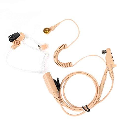 Preisvergleich Produktbild Morza Schlauch-Air-Kopfhörer-Hörmuschel-K... für Hytera PD605 PD665 PD602 PD662 PD682 PD606 PD666 PD686 PD608 PD668 PD688 X1P X1E