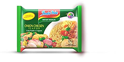 Indomie Instant Onion Chicken Noodles 70g (Pack of 10)