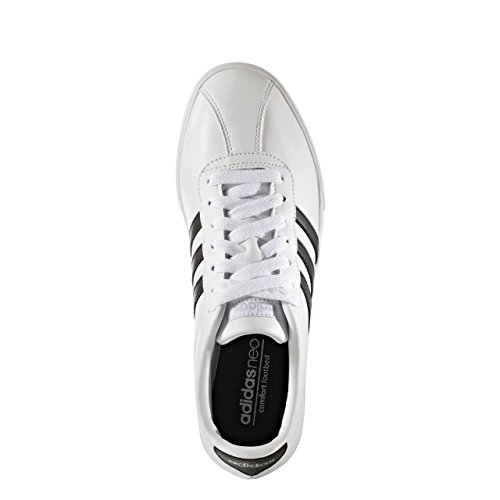 adidas Damen Courtset W Turnschuhe Bianco (Ftwbla/Negbas/Plamat)