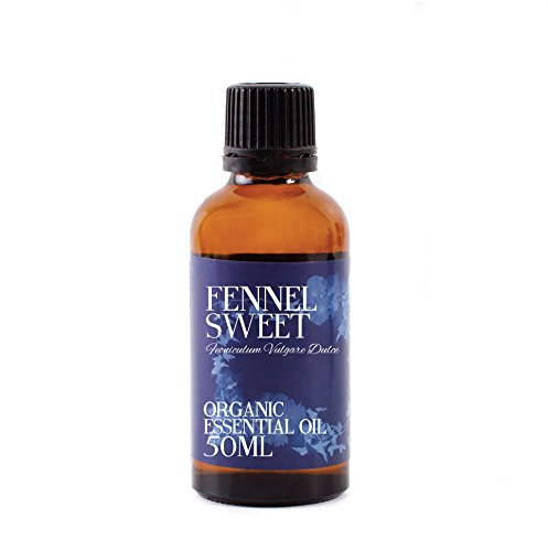 Fenchel Bio Ätherisches Öl (Mystic Moments Fenchel Süßigkeit Bio Ätherisches Öl - 50ml - 100% Pure)