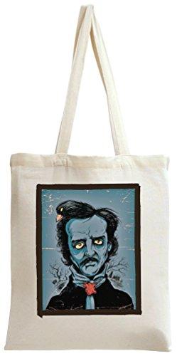 Edgar Allen Portrait Tote Bag