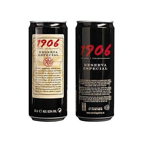 1906 Cerveza Reserva Especial - Paquete de 6 x 330 ml - Total: 1980 ml