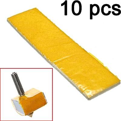 Gaoxing Tech. 10 Stück 3mm Dick Heizblock Cotton Düse Wärmedämmung für 3D Drucker