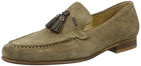 Hudson London Men's Bernini Loafers, Brown (Tobacco), 7 UK
