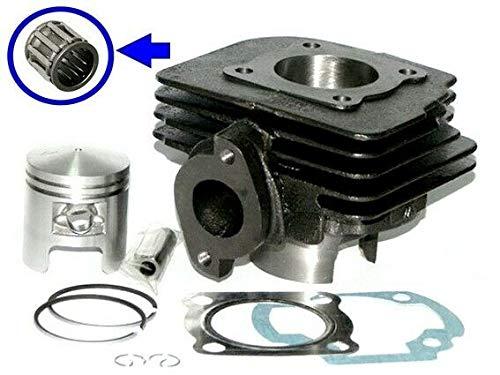 Unbranded 50 Zylinder 41mm KOLBEN Nadel Lager KIT Set für Suzuki AY 50 Katana Luft Zylinderkit