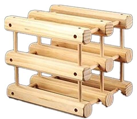 YANFEI Removable Wood Creative Fashion Style Wine Rack European Classic Style Display Shelves Free