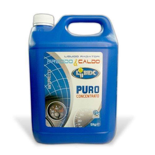 Liquido radiatore caldo freddo Lubex 5lt auto cammion rabbocco 2785