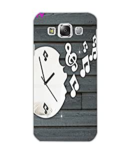 SAMSUNG GALAXY E5 CLOCK Back Cover by PRINTSWAG