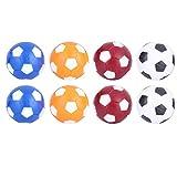 Alomejor Palloni da Calcio da Tavolo 8PCS Palla da Tavolo Ufficiale Palline per Tavoli da Biliardino Standard e Classici, 36mm