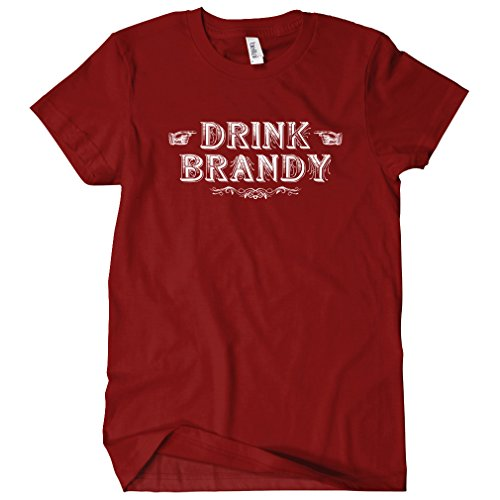 smash-transit-womens-drink-brandy-t-shirt-maroon-x-large