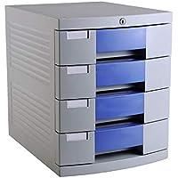Gabinete de Archivos 4 capas con archivo de bloqueo de escritorio Gabinete Acabado del gabinete archivador de datos Gabinete de almacenamiento de oficina for gabinete Almacenamiento organizador de ofi